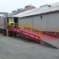 Fixed loading ramp - Feb 2011