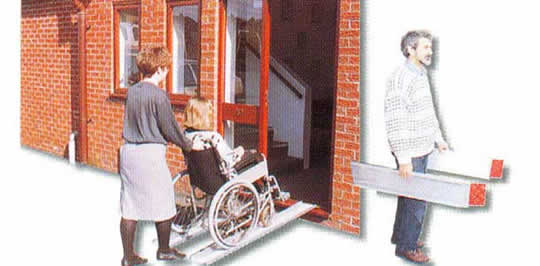 Extendable Wheelchair Ramps