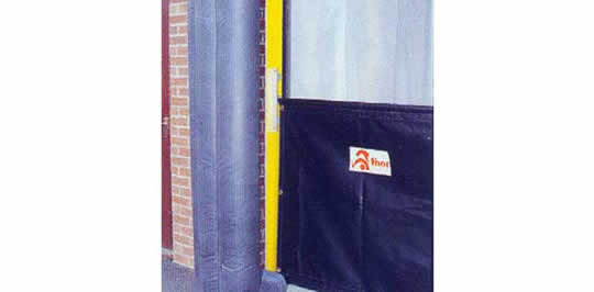 Dock Shelter Curtains & Aprons